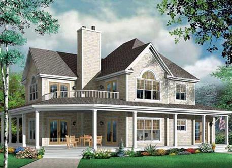 Amerikanisches Landhaus ᐅ amerikanisches haus bauen | preise | grundrisse | kataloge