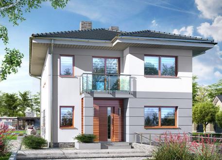 100 zweifamilienh user mit grundriss und kosten seite 2 for Haus mit doppelgarage bauen