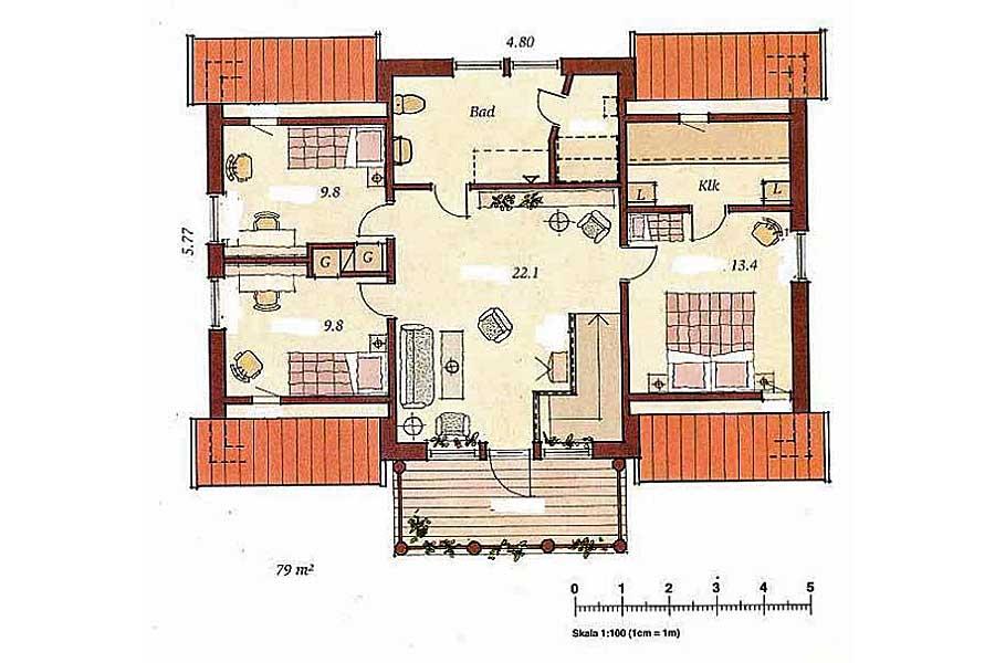 karby klee hausbau. Black Bedroom Furniture Sets. Home Design Ideas