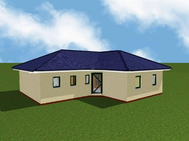 karow bungalow bimssteinhaus. Black Bedroom Furniture Sets. Home Design Ideas