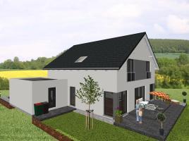 Klassisches Einfamilienhaus mit interessanten Details - www.jk-traumhaus.de