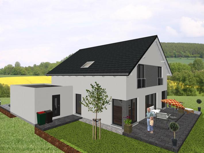 Klassisches einfamilienhaus mit interessanten details for Klassisches haus