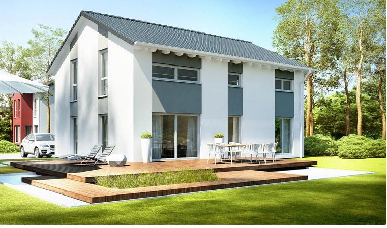 komfort und flexibilit t systemhaus hausvertrieb. Black Bedroom Furniture Sets. Home Design Ideas