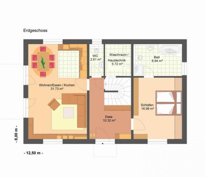U Wert Eingangstür: Villa Agnes 150
