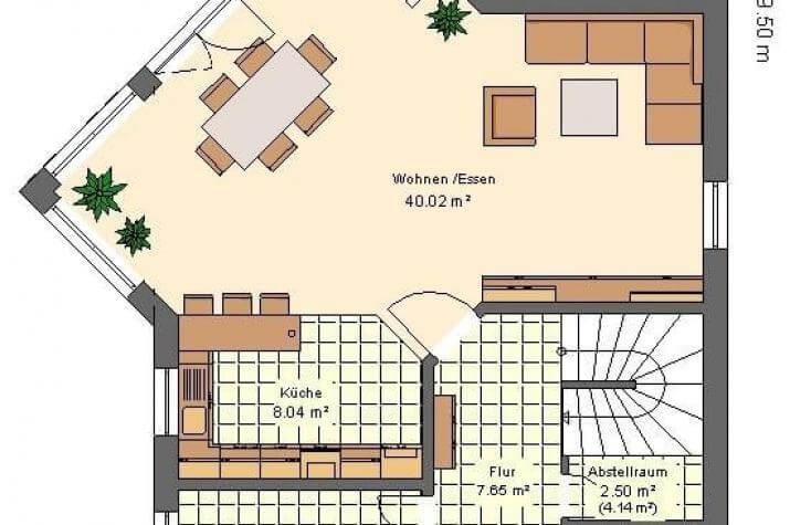 Kowalski Haus - ANITA 160 - grundriss eg