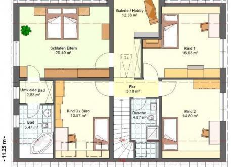 Einfamilienhaus bauen einfamilienhaus kosten seite 4 for Bauplan wohnhaus