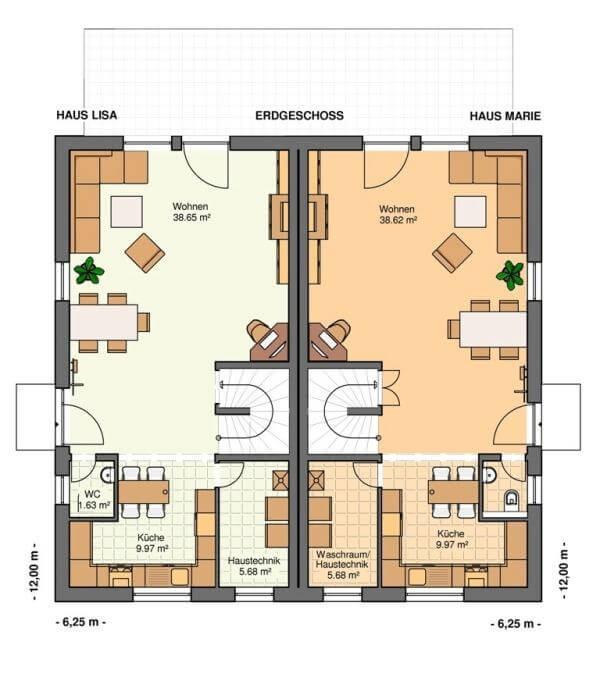 kowalski haus doppelhaush lfte lisa marie kowalski haus klaus kowalski immobilien rdm e k. Black Bedroom Furniture Sets. Home Design Ideas