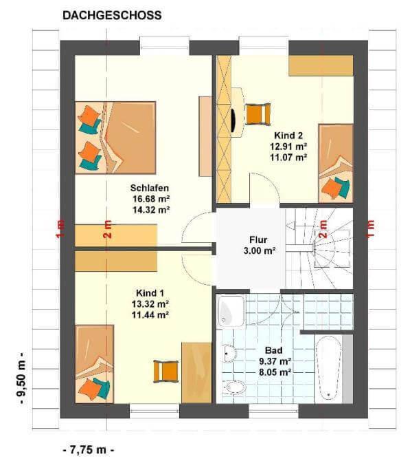 kowalski haus eva 112 kowalski haus klaus kowalski immobilien rdm e k. Black Bedroom Furniture Sets. Home Design Ideas