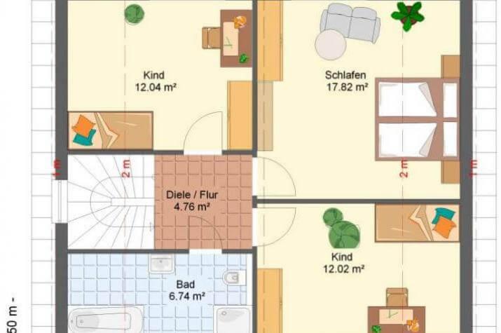 Kowalski-Haus - LINDA 130 - grundriss dg
