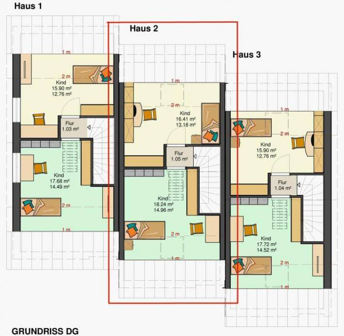 kowalski haus reihenmittelhaus am hang mit tiefgarage f r 2 pkws kowalski haus klaus. Black Bedroom Furniture Sets. Home Design Ideas