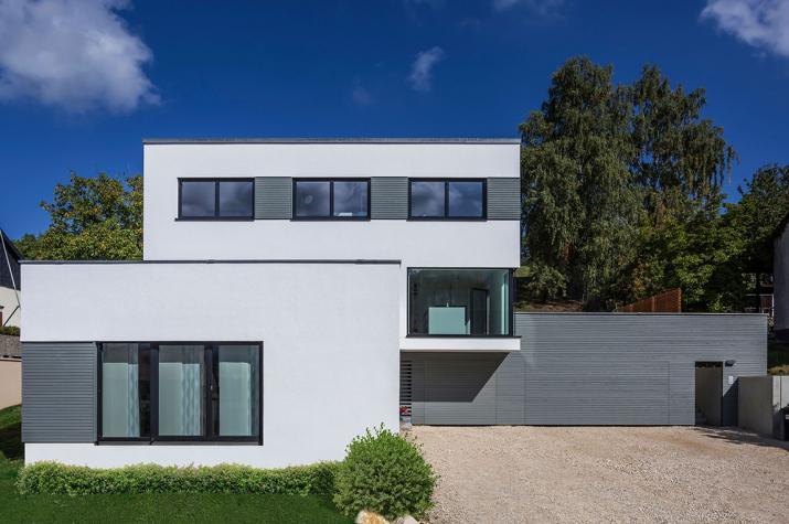 Kundenhaus dettingen for Traumhaus modern