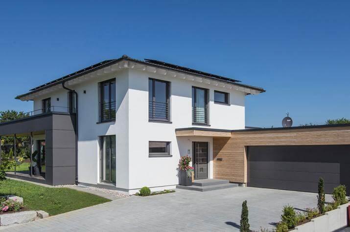 Musterhaus mit garage  ᐅ Kundenhaus Dornhan 1