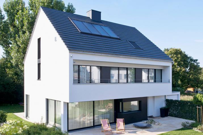 Kundenhaus Stuttgart - Ökohaus auf drei Etagen