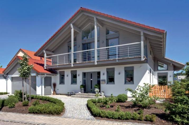 Fertighaus holz glas  ᐅ Landshut - viel Glas, viel Holz