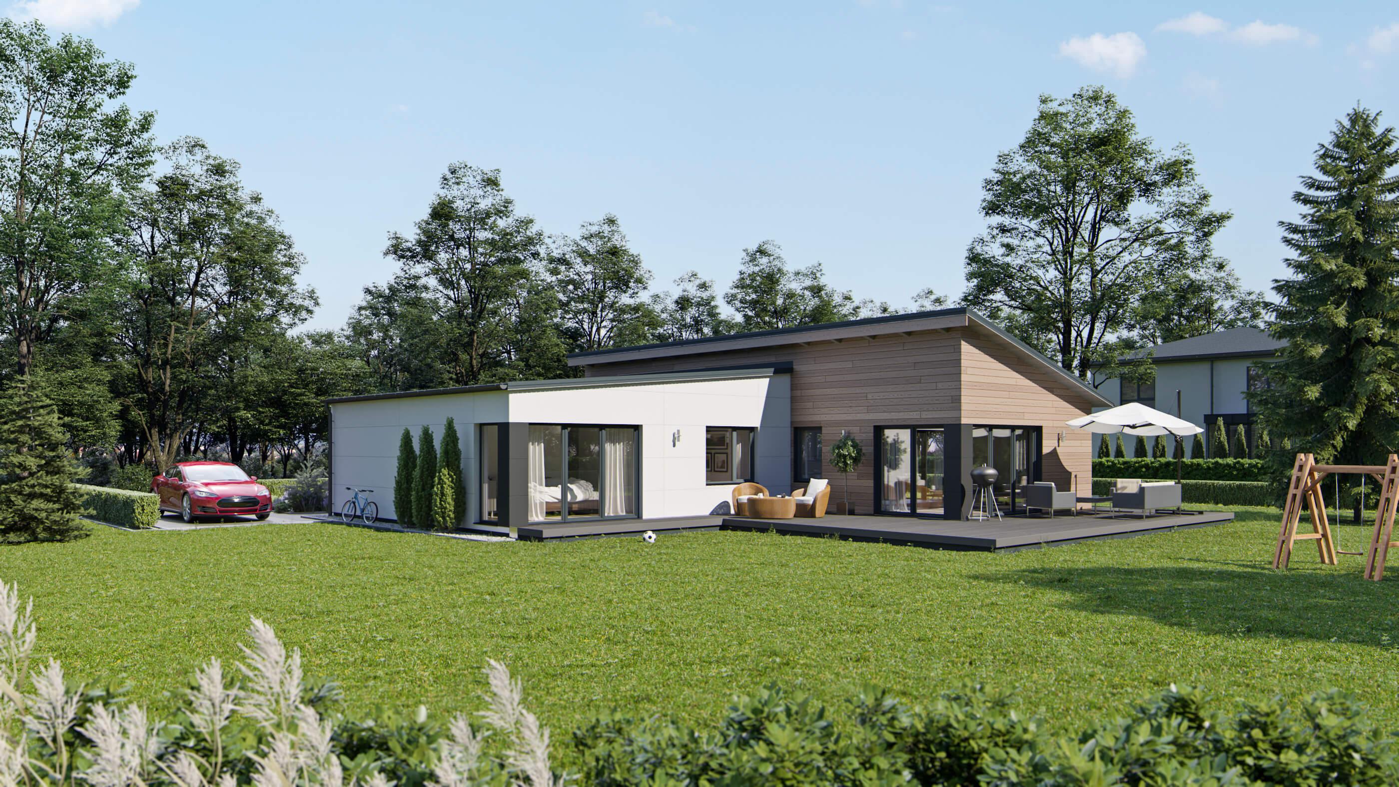 ᐅ Skandinavisches Designhaus NF 160 | GS Schwedenhaus GmbH