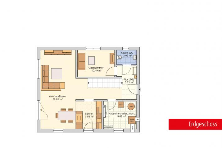 Mainz - Modern, schlank und flexibel  - Erdgeschoss