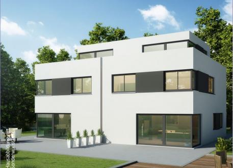 Doppelhaus Massiv-Hausidee DH 110 T