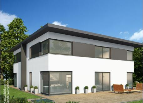 Doppelhaus Massiv-Hausidee DH 130 M