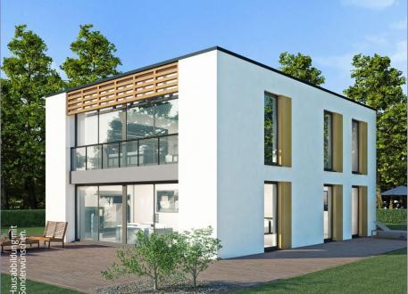 Zweifamilienhaus Massiv-Hausidee ZH 185 T