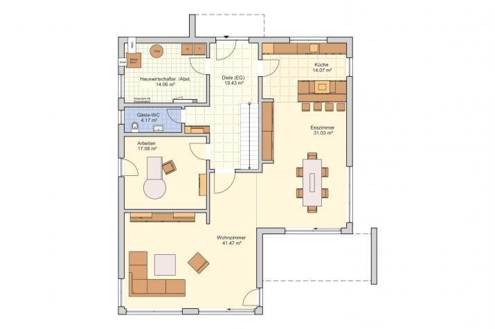 Matene - Modern & weitläufig - Erdgeschoss