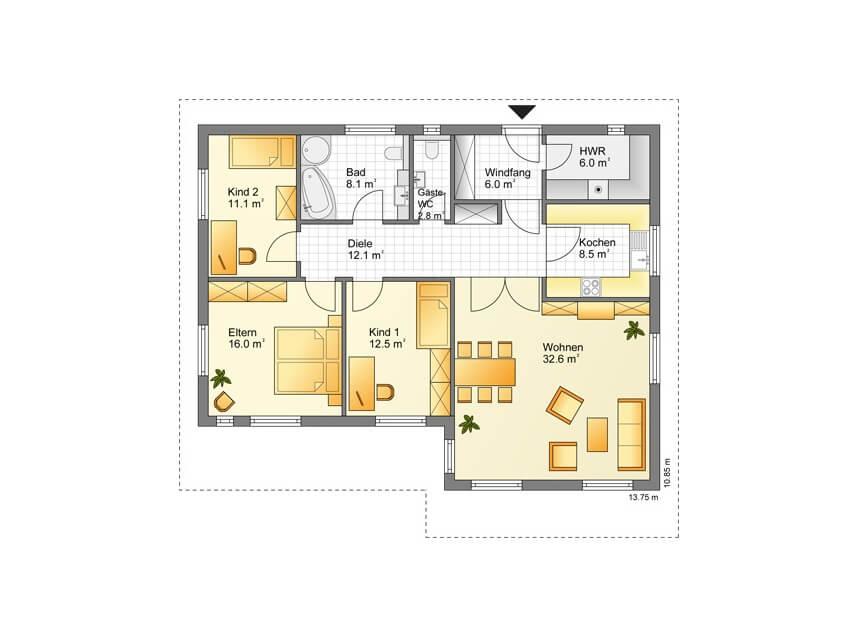 modern leben auf einer ebene holminghaus gmbh. Black Bedroom Furniture Sets. Home Design Ideas