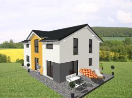 Moderner Klassiker für die größere Familie - www.jk-traumhaus.de