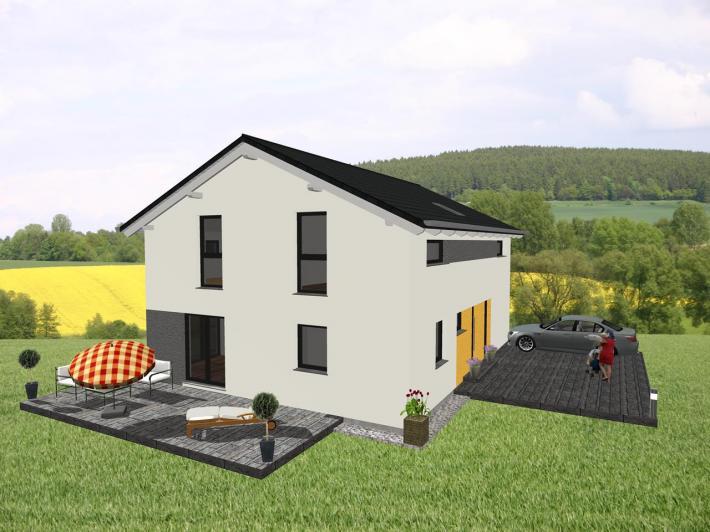 moderner klassiker f r die gr ere familie jk traumhaus. Black Bedroom Furniture Sets. Home Design Ideas