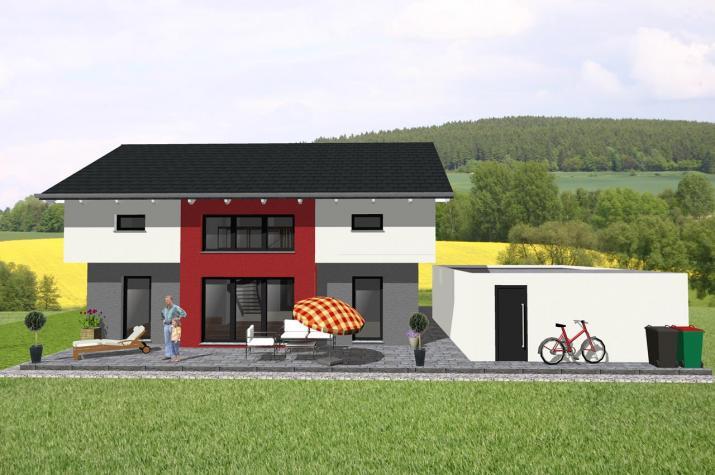 Jk Traumhaus ᐅ individuell geplant futuristisches pultdachhaus mit