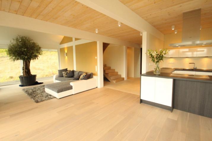 modernes fachwerkhaus in freisen concentus holzskelett. Black Bedroom Furniture Sets. Home Design Ideas