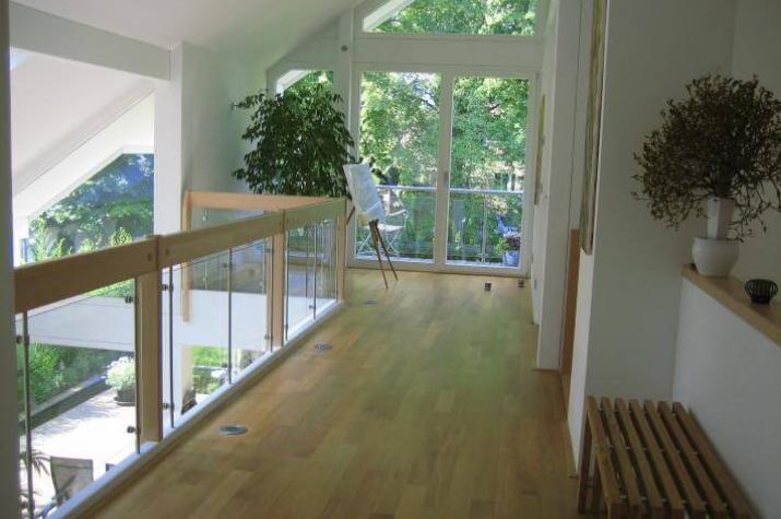 modernes fachwerkhaus in kleinmachnow. Black Bedroom Furniture Sets. Home Design Ideas