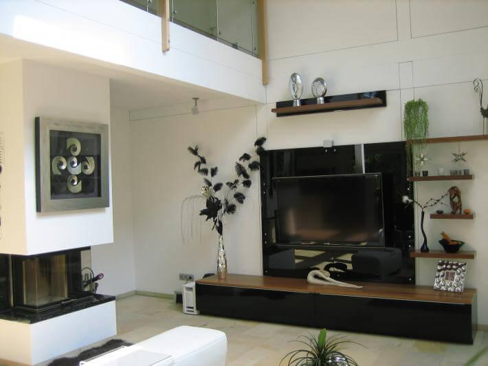 modernes fachwerkhaus in kleinmachnow concentus holzskelett haus gmbh. Black Bedroom Furniture Sets. Home Design Ideas