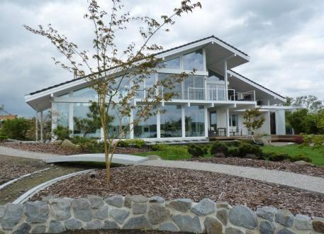 Modernes Fachwerkhaus in Oldenburg - CONCENTUS Holzskelett-Haus GmbH