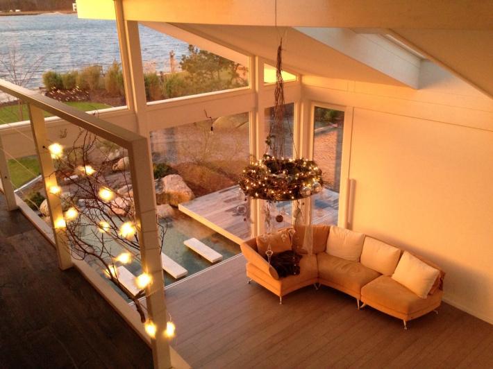 modernes fachwerkhaus in oldenburg concentus holzskelett haus gmbh. Black Bedroom Furniture Sets. Home Design Ideas