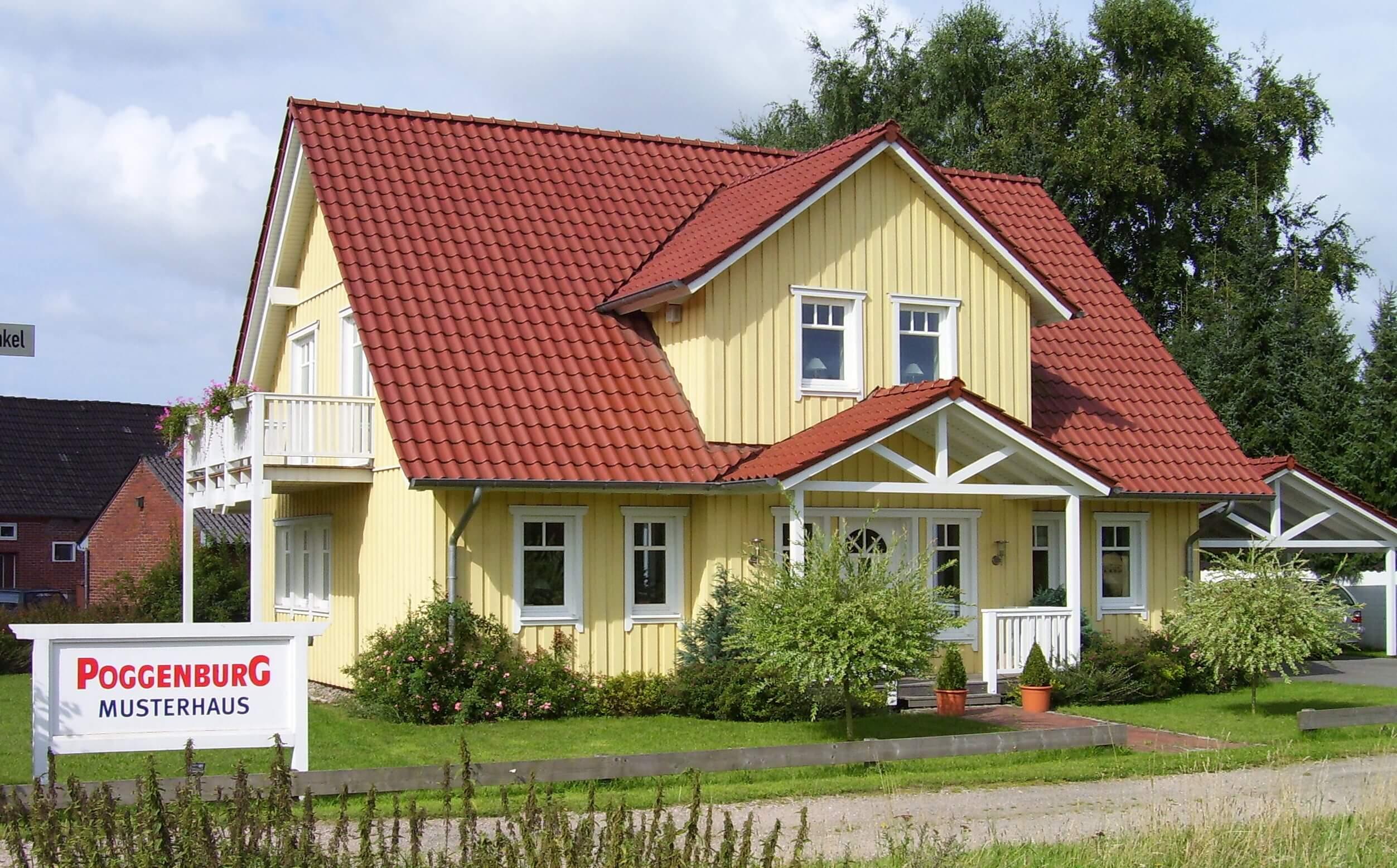ᐅ Musterhaus Schwedenhaus XXL | Poggenburg Haus on