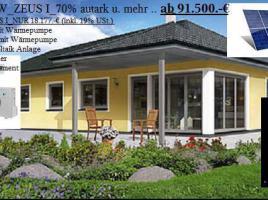 NiedrigEnergiehaus _  Solarhaus ZEUS...80 Prozent aus Umweltenergie und Mehr