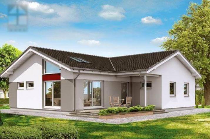 Einfamilienhaus mit doppelgarage modern  ᐅ Einfamilienhaus bauen | 909 Einfamilienhäuser mit Grundrissen u ...