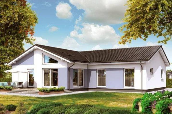ᐅ BUNGALOW bauen ▷ 210 Bungalows mit Grundrissen & Preisen