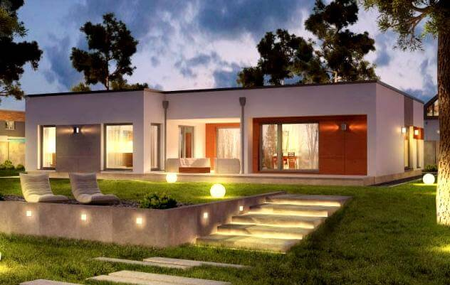 ᐅ BUNGALOW bauen ▷ 206 Bungalows mit Grundrissen & Preisen