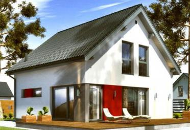 designerhaus bis euro bis 350 m fertighaus. Black Bedroom Furniture Sets. Home Design Ideas