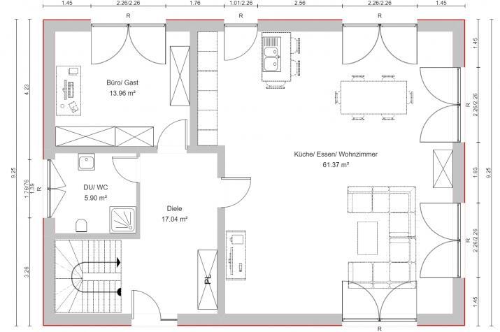 PURE 5 - Erdgeschoss