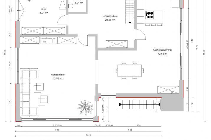 PURE 6 - Erdgeschoss