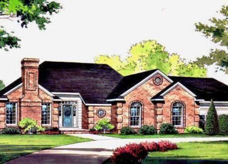 Fassadengestaltung beispiele bungalow  ᐅ BUNGALOW bauen ▷ 208 Bungalows mit Grundrissen & Preisen