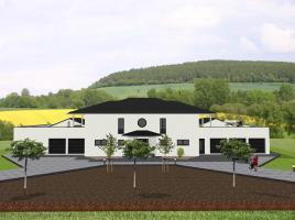 Repräsentative Villa mit Nebengebäuden - www.jk-traumhaus.de