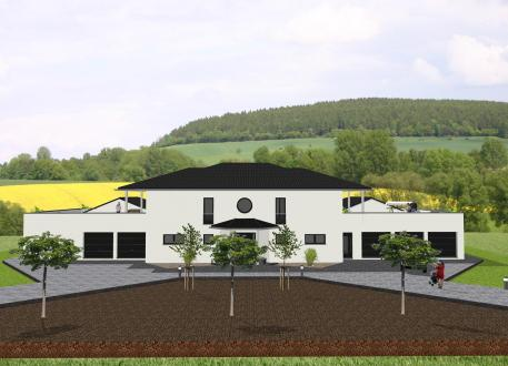 Zweifamilienhaus Repräsentative Villa mit Nebengebäuden - www.jk-traumhaus.de