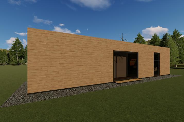 SMART LIVING PROJECT A - Türanordnung und Fensteranordnung individuell gestaltbar