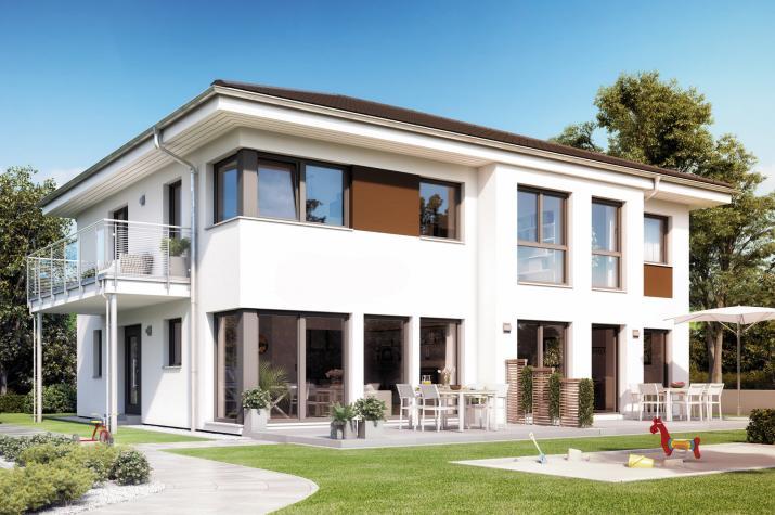 SOLUTION 230 V6 - Repräsentatives Traumhaus mit Einliegerwohnung und zwei-geschossigem Erker