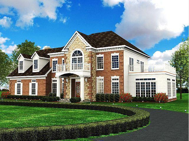 Traumhaus amerikanischer stil  ᐅ Landhaus bauen | 226 Landhäuser mit Grundrissen und Preisen