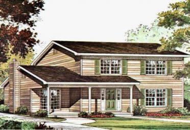 amerikanisches haus bis euro bis 400 m fertighaus. Black Bedroom Furniture Sets. Home Design Ideas
