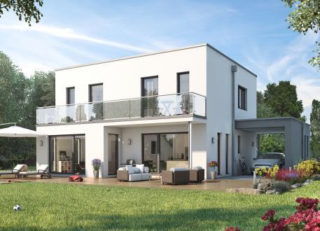 Niedrigenergiehaus SUNSHINE 143 V7