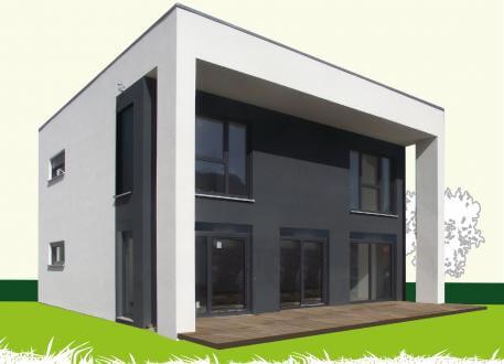 Einfamilienhaus Sachsenheimer Fertighaus FD142
